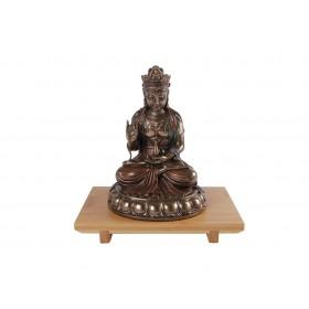 Escultura Kuan Yin Sentada