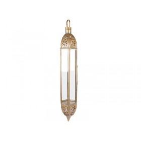 Lanterna Latão Marrocos Ayuni 60cm