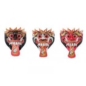 Máscara Barong Color 16cm