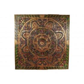 Mandala Quadrada Flor de Lótus