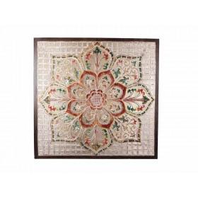 Mandala Quadrada Lotus Grande