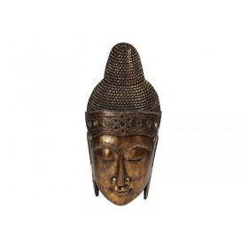 Máscara Buda Rosto Gold