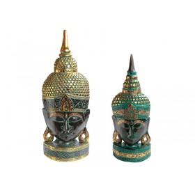 Máscara Rosto Buda Emerald