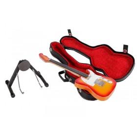 Guitarra Miniatura Telecaster Laranja