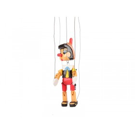 Pinóquio de Madeira Marionete Pequeno