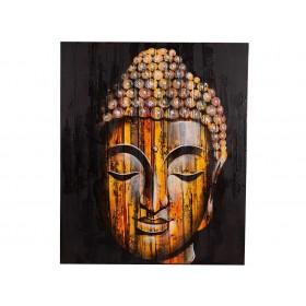 Tela de Buda Rosto Amarelo