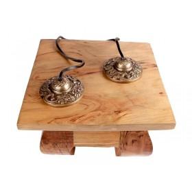 Tingsha Tibetano de Bronze Dragão