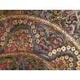 Mandala com Detalhes Dourados