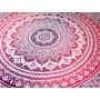 Tecido Mandala Rosa