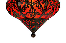Luminária de Bali Decoração