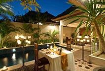 Área externa Bali