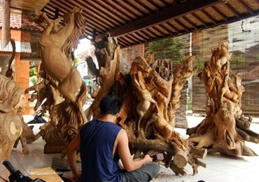 Decoração da Indonésia