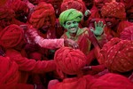 Confraternização entre Amigos - Holi Festival Índia