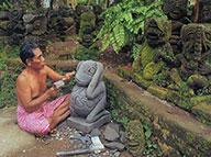 Buda em Pedra Bali