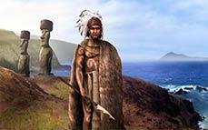 Estátua Pedra Rapa Nui